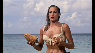 Ursula Andress as Honey Ryder.