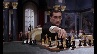 Use of a chess tournament to develop a Villain as maniacal is something you wouldn't think would work, but it really does, to an absurd level.