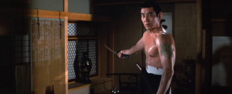 The brooding and violent, Tanaka Ken