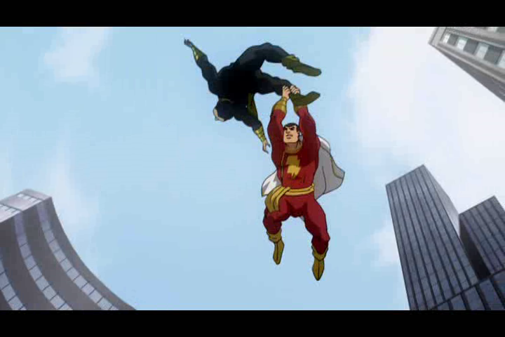 Shazam Superman The Return Of Black Adam And Other DC Shorts 2010 BLOGAGANZA Part 1